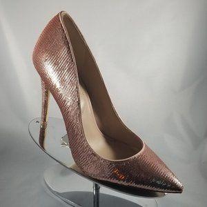 Aldo Rose Gold Sequin Pumps-Size 9